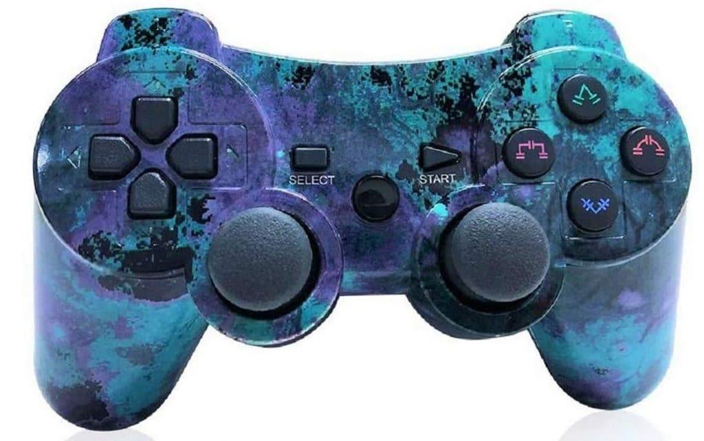 Mando PS3 Inalámbrico azulito