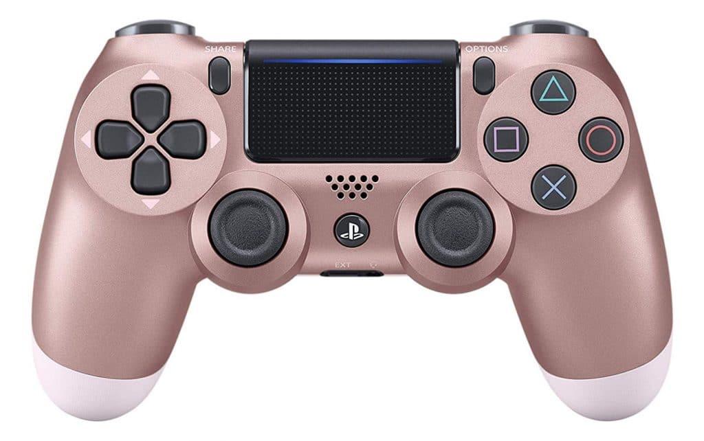 Sony - Dualshock 4 Controller Rose Gold