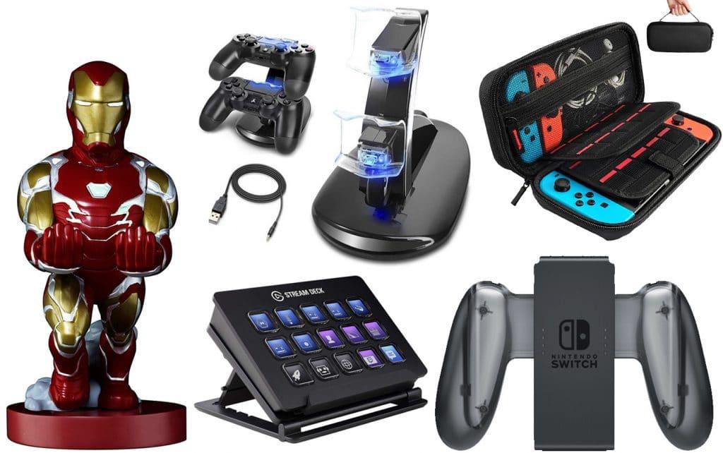 accesorios consolas
