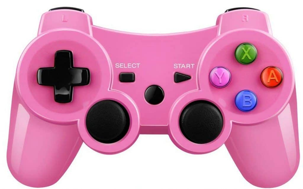 mando ps3 rosa