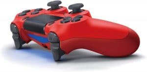 Dualshock 4 V2 Mando Inalámbrico, Color Rojo (Magma Red) (PS4)